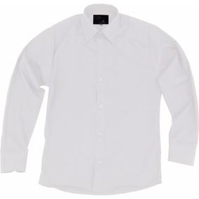 Camisa De Vestir Para Adulto Blanca Tallas Extras 44 A 50