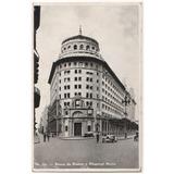 Banco De Boston, Ciudad De Buenos Aires, Postal Antigua