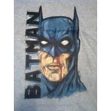 Remeras Artesanales, Batman, Pintada A Mano Talle 44