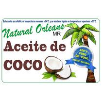 Aceite De Coco Natural Comestible Y Delicioso 19lt Oferta