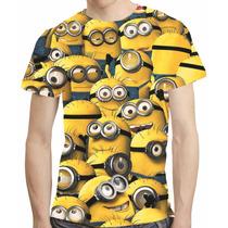 Camisa Filme Camiseta Minions - Estampa Total