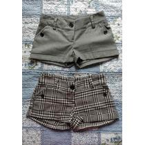 Variedad De Shorts Mini Faldas Talla Xs 26 Solo 1 Uso 10/10