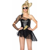 Disfraz De Estrella De Rock Leg Avenue Usalo En Halloween