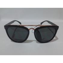 Óculos Triton Tr090 - Preto - Acetato - 12x Sem Juros