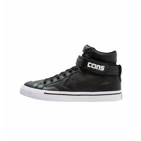 Converse All Star Pro Blaze Plus Leather Mid Black/black