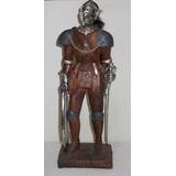 Caballero Medieval, Artesanía De Colección Belga, Importado