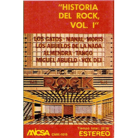Historia Del Rock Vol.1-vs-cassette-abuelos De La Nada-manal