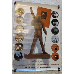 Poster Queen Freddie Mercury Oficial The Solo Collection