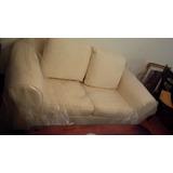 Juego De Recibo Sofa De 2 Y 3 Puestos Como Nuevos