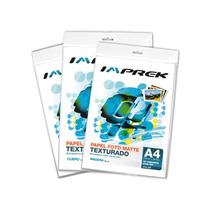 Papel Mate Texturado Para Tarjetas Imprek Matte Premium A4