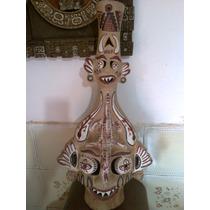Antigua Lampara Altoperuana - Hecha A Mano - Unica En M.l