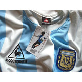 Camiseta Retro Argentina 86 Titular Maradona Campeon Mexico.