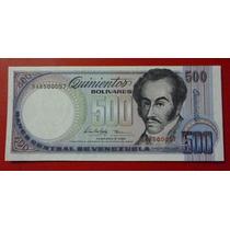 Venezuela Billete 500 Bolívares Unc 05/02/1998