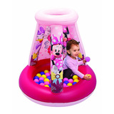 Pelotero Minnie Mouse Inflable Con 15 Pelotas Flexibles