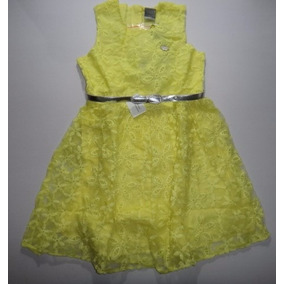 Lindo Vestido Infantil Malwee. Ideal P/ Festas/casamentos