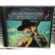 Cd Argentino Luna 20 Grandes Exitos Nuevo Cerrado