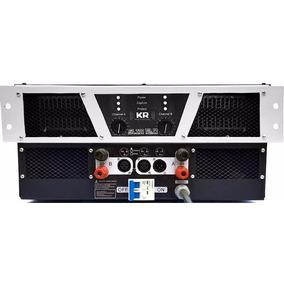 Potência Profissional 10.000 Wrms Kr Slim 12.0 Modulo Audio