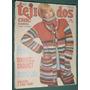 Revista Moda Tejidos 110 Ponchos Chales Casquettes Chalecos