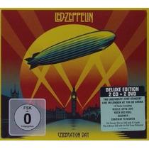 Led Zeppelin Celebration Day 2cd 2 Dvd Imp Page Robert Plant