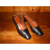 Zapatos Clasicos Tipo Sandalia, Talle 38, Poco Uso !