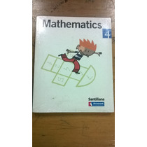 Mathematics 4 - Santillana - Libro Nuevo - Matematicas -cod8