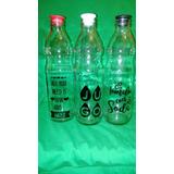Botella De Vidrio Decorada (vinilo De Corte)