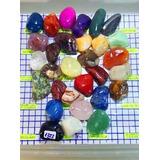 30 Pedras:ametista Àgata Cristal Ônix Citrino Quartzo Jade