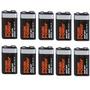 Oferta Juego De 10 Baterias Alcalina 9v Pila Cuadrada Ap-1c