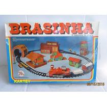 Antigo Trem Brasinha Trol Na Caixa Lacrado A Pilha Anos 80s