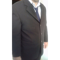 Blazer Masculino Preto Completo Calça Gravata E Camisa Clara