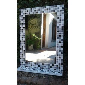 Espejo Venecitas Decoracion Baño 50×70 + Estante