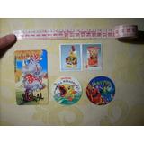 Stickers Años 90s Ambrositos Fantasilandia Mistral Peter Pan