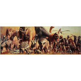 Rompecabezas Dinosaurios Panorámico 1000 Pzas Ricordi