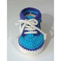 Zapatillas Para Bebes Y Niño Hechas Al Crochet