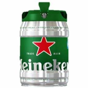 Frete Gratis - Barril Chopp - Cerveja Heineken 5 Litros