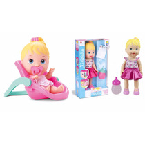 Kit 2 Bonecas My Little: 1 Faz Xixi +1 Little Dolls Conforto