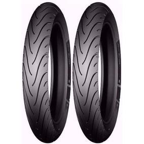 Pneu 275-18 + 90/90-18 Michelin Traseiro Titan Ybr S Camara