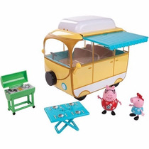 Peppa Pig Campervan Familiar 4 Piezas