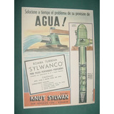Publicidad Clipping Recorte Bombas Agua Turbina Sylwanco