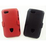 Suporte Com Capa Nextel Motorola Xt621 Clip Duplo De Celular