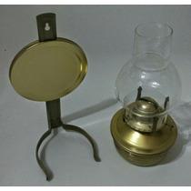 Lampara Estilo Antiguo A Kerosene, Desmontable, 25cm