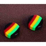 Brinco Masculino De Pressão Com Magnetismo Ima Reggae 4mm