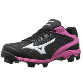 Zapatos Tacos P/ Futbol Americano Beisbol Mizuno Adv P/ Dama