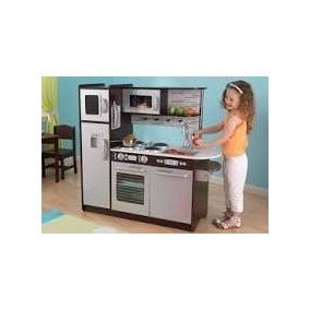 Cocina Cocinita Kidkraft Incluye Set De Comida Para Jugar.