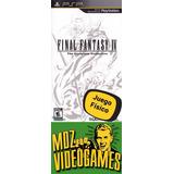 Final Fantasy I V - Psp - Físico - Mdz Videogames