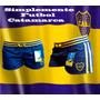 Short Cintura Tejida Boca Juniors Dama