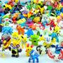 Kit Coleção Pokemon 144 Miniaturas Pikachu, Charizard