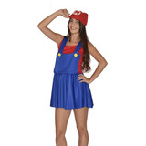 Fantasia Super Mário Feminina
