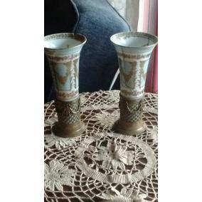 Antiguo Sevres Spill Vase Con Roturas Pero Hermosos!