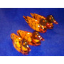 Pato Mandarin - Pareja - Feng Shui 5,5 Cm